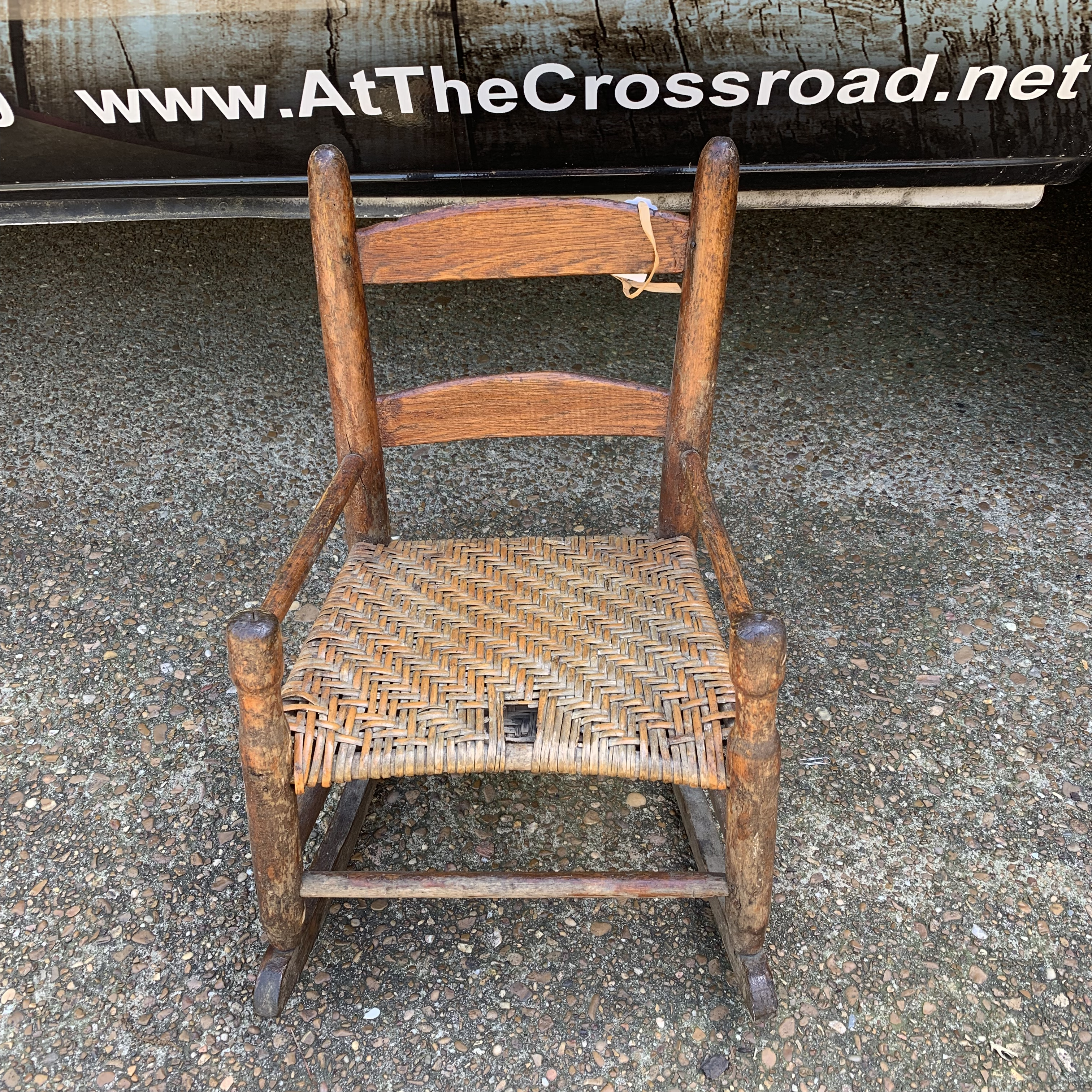 Picture of: Children S Rocking Chair Crossroad Antiques